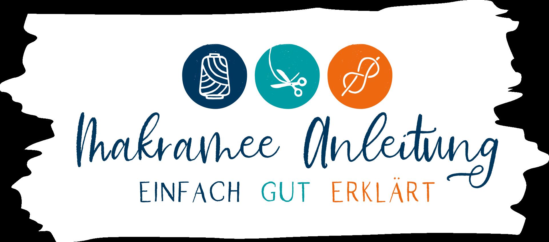 Makramee Anleitung: Makramee lernen Logo